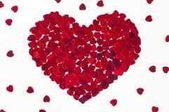 καρδιές καρδιών που γίνονται μικρές Στοκ Φωτογραφίες