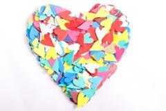 καρδιές καρδιών Στοκ Εικόνα