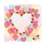 καρδιές καρδιών Στοκ εικόνα με δικαίωμα ελεύθερης χρήσης