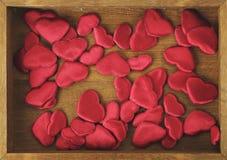 καρδιές κιβωτίων λίγα Στοκ Εικόνες