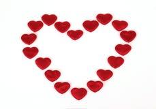 καρδιές λίγα Στοκ εικόνα με δικαίωμα ελεύθερης χρήσης
