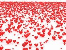 καρδιές πεδίων Στοκ Εικόνα