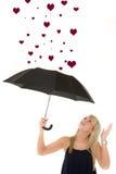καρδιές πολλές που λαμβά Στοκ εικόνα με δικαίωμα ελεύθερης χρήσης