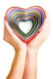 καρδιές πολλές Στοκ φωτογραφία με δικαίωμα ελεύθερης χρήσης