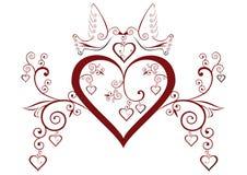 καρδιές πουλιών Στοκ εικόνα με δικαίωμα ελεύθερης χρήσης