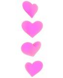 καρδιές που περιστρέφοντ Στοκ φωτογραφία με δικαίωμα ελεύθερης χρήσης