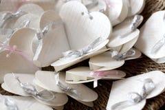 Καρδιές της Λευκής Βίβλου Στοκ Εικόνες
