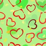καρδιές χάους Στοκ εικόνες με δικαίωμα ελεύθερης χρήσης