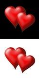 καρδιές 1 απεικόνιση αποθεμάτων