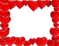 καρδιές διανυσματική απεικόνιση