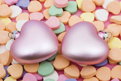 καρδιές Στοκ εικόνες με δικαίωμα ελεύθερης χρήσης