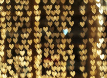 Καρδιές Defocused Στοκ Εικόνα