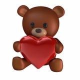 καρδιές teddy ελεύθερη απεικόνιση δικαιώματος