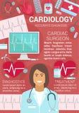 Καρδιακά διαγνωστικά χειρούργων καρδιολογίας, επεξεργασία ελεύθερη απεικόνιση δικαιώματος