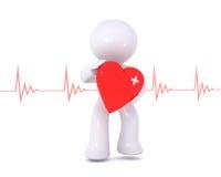 καρδιακή υγεία Στοκ φωτογραφία με δικαίωμα ελεύθερης χρήσης