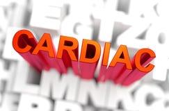 Καρδιακός - έννοια ιατρικής τρισδιάστατη απόδοση ελεύθερη απεικόνιση δικαιώματος