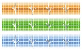 καρδιακός διανυσματική απεικόνιση