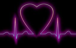 καρδιογράφημα Στοκ φωτογραφίες με δικαίωμα ελεύθερης χρήσης