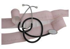 καρδιολογία Στοκ εικόνες με δικαίωμα ελεύθερης χρήσης
