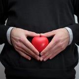 καρδιών χεριών Στοκ φωτογραφία με δικαίωμα ελεύθερης χρήσης