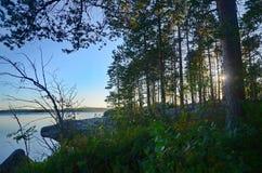 Καρελιανός ποταμός Στοκ εικόνα με δικαίωμα ελεύθερης χρήσης