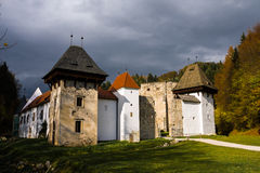 Καρθουσιανό μοναστήρι Sloven kartuzija Zicka (zice Charter House) Στοκ φωτογραφία με δικαίωμα ελεύθερης χρήσης