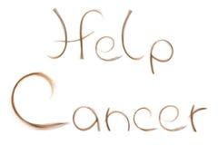 Καρκίνος πάλης βοήθειας Στοκ Εικόνες
