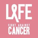 Καρκίνος του μαστού Στοκ εικόνα με δικαίωμα ελεύθερης χρήσης