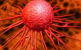 Καρκινικά κύτταρα Στοκ φωτογραφία με δικαίωμα ελεύθερης χρήσης
