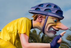Καρναβάλι της Νίκαιας Στοκ εικόνα με δικαίωμα ελεύθερης χρήσης