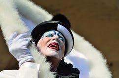 καρναβάλι pierrot Βενετία Στοκ φωτογραφία με δικαίωμα ελεύθερης χρήσης