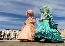 καρναβάλι Βενετία Στοκ εικόνα με δικαίωμα ελεύθερης χρήσης