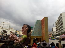 Καρναβάλι σε Πάτρα Ελλάδα 2016 στοκ εικόνες με δικαίωμα ελεύθερης χρήσης