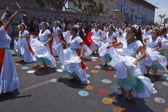 Καρναβάλι σε Arica, Χιλή Στοκ Εικόνες