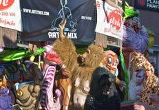 Καρναβάλι σε Nivelles, Βέλγιο Στοκ Φωτογραφίες