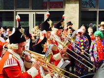 καρναβάλι στην Κολωνία Στοκ εικόνα με δικαίωμα ελεύθερης χρήσης