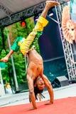 Καρναβάλι στη Μόσχα, Ρωσία Στοκ εικόνες με δικαίωμα ελεύθερης χρήσης