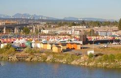 Καρναβάλι στη δυτική ακτή του Καναδά ` s στοκ εικόνες