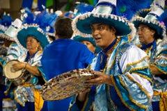 Καρναβάλι στο Ρίο ντε Τζανέιρο Στοκ εικόνα με δικαίωμα ελεύθερης χρήσης