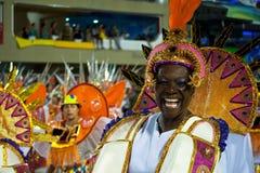 Καρναβάλι στο Ρίο ντε Τζανέιρο Στοκ Φωτογραφία