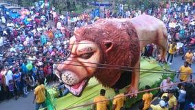 Καρναβάλι στο goa Στοκ φωτογραφία με δικαίωμα ελεύθερης χρήσης