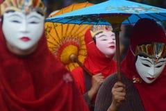 Καρναβάλι της περιοχής του Σεμαράνγκ επετείου πολιτισμών Στοκ εικόνα με δικαίωμα ελεύθερης χρήσης