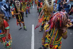 Καρναβάλι της περιοχής του Σεμαράνγκ επετείου πολιτισμών Στοκ Εικόνες