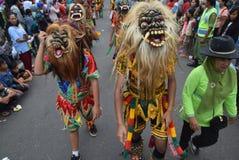 Καρναβάλι της περιοχής του Σεμαράνγκ επετείου πολιτισμών Στοκ Φωτογραφία