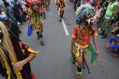 Καρναβάλι της περιοχής του Σεμαράνγκ επετείου πολιτισμών Στοκ Εικόνα