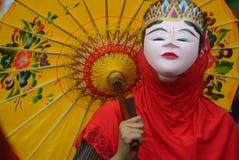 Καρναβάλι της περιοχής του Σεμαράνγκ επετείου πολιτισμών Στοκ εικόνες με δικαίωμα ελεύθερης χρήσης