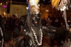 Καρναβάλι του καλοκαιριού σε Mindelo, Πράσινο Ακρωτήριο Στοκ φωτογραφία με δικαίωμα ελεύθερης χρήσης