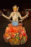 Καρναβάλι του καλοκαιριού σε Mindelo, Πράσινο Ακρωτήριο Στοκ Φωτογραφία