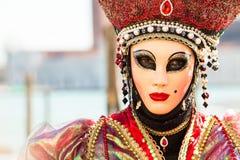 Καρναβάλι των μασκών της Βενετίας Στοκ Εικόνα
