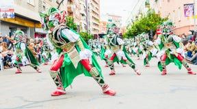 Καρναβάλι Badajoz Στοκ φωτογραφίες με δικαίωμα ελεύθερης χρήσης